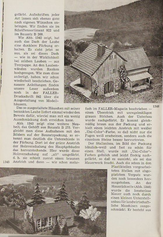 Faller Dorfwirtschaft B-269