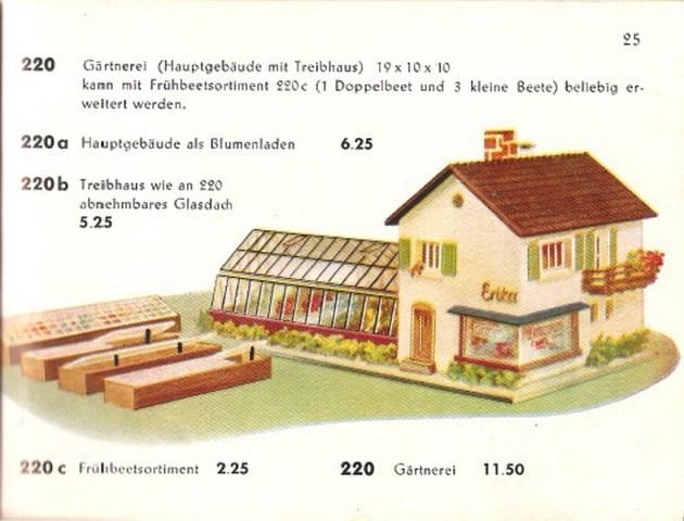 Faller Gärtnerei 220/B-220