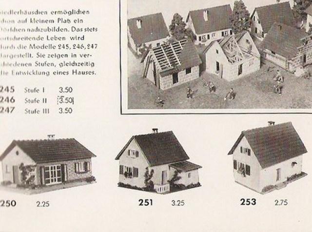 Bild Faller Katalog 1954
