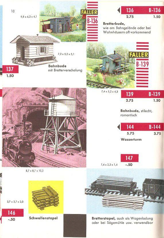 Faller Katalog 1959
