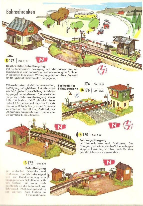 Faller Katalog 1962/63