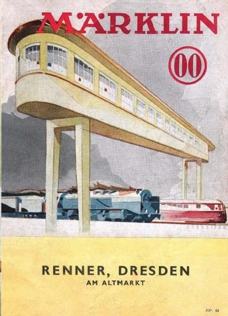 Deckblatt Märklin Katalog 00, 1939