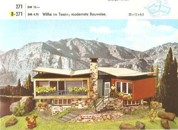 faller villa im tessin b 271 wolfi s modelleisenbahn seiten. Black Bedroom Furniture Sets. Home Design Ideas