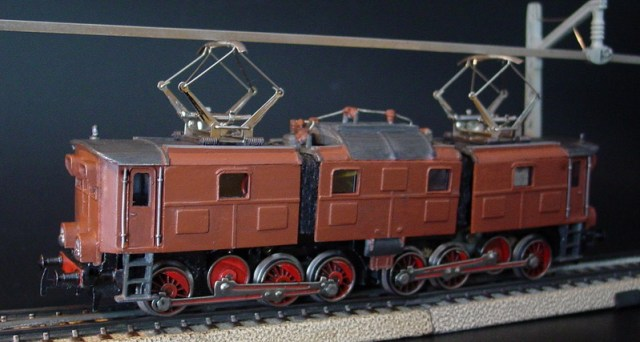 GEM Model Railways H0 BR E 91 der DB