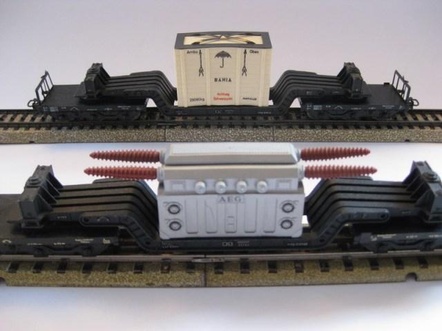 Tiefladewagen 4617