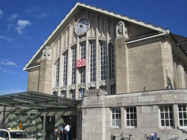 Darmstädter Hauptbahnhof