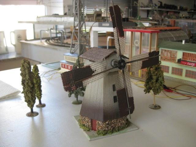 Renovierung Faller Windmühle 233