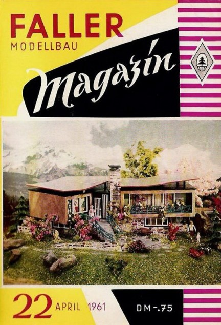 Deckblatt Faller Magazin 22, April 1961