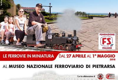 """Il CMP a """"Ferrovie in Miniatura"""" – Museo Naz.le Ferroviario di Pietrarsa"""