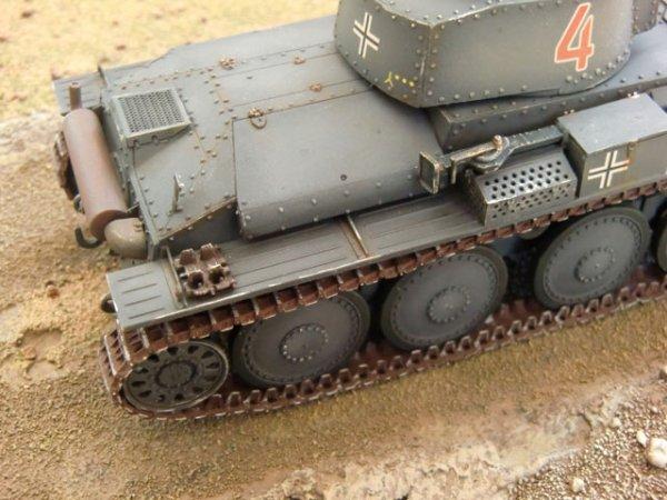 Panzer 38(t) Ausf. B, Tristar 1:35 von Herbert Engelhard