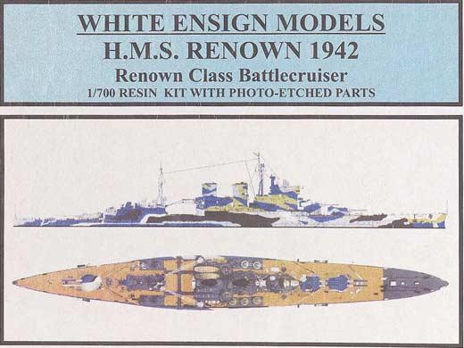 Resultado de imagen de hms renown model kit