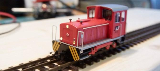 Vgradnja Nuky-jevega dekoderja v H0e lokomotivo