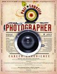Formato de CV creativo para fotógrafo