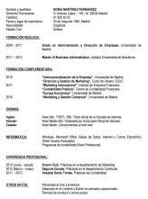 Plantilla De Curriculum Vitae Basico Modelo Curriculum