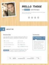 Plantilla de curriculum online con myResume