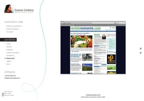 portfolio diseñador web