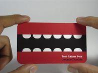 Tarjeta de presentación creativa para dentistas