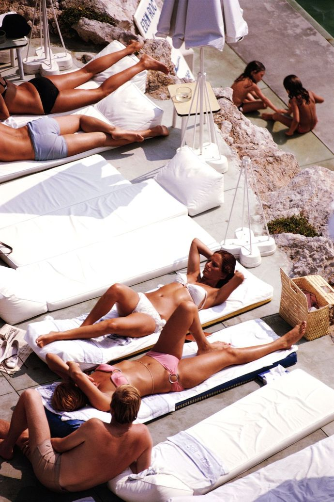 French Riviera style
