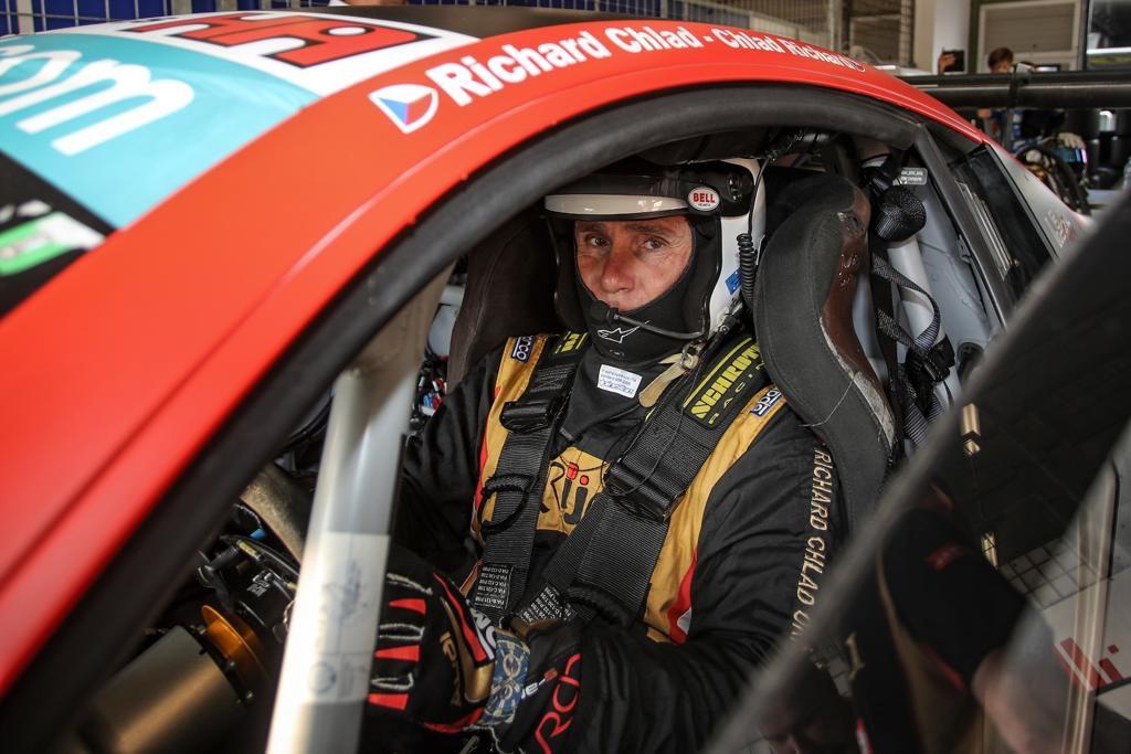 richard clad, race car