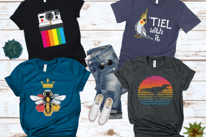 Journey Mills graphic tees collection