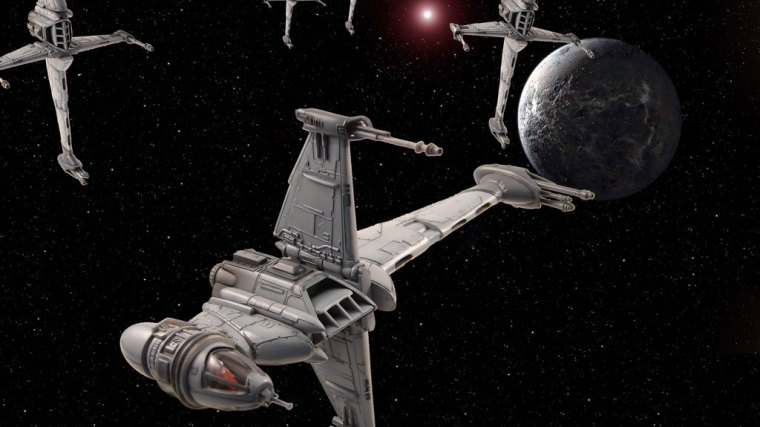 Star Wars: B-Wing Fighter