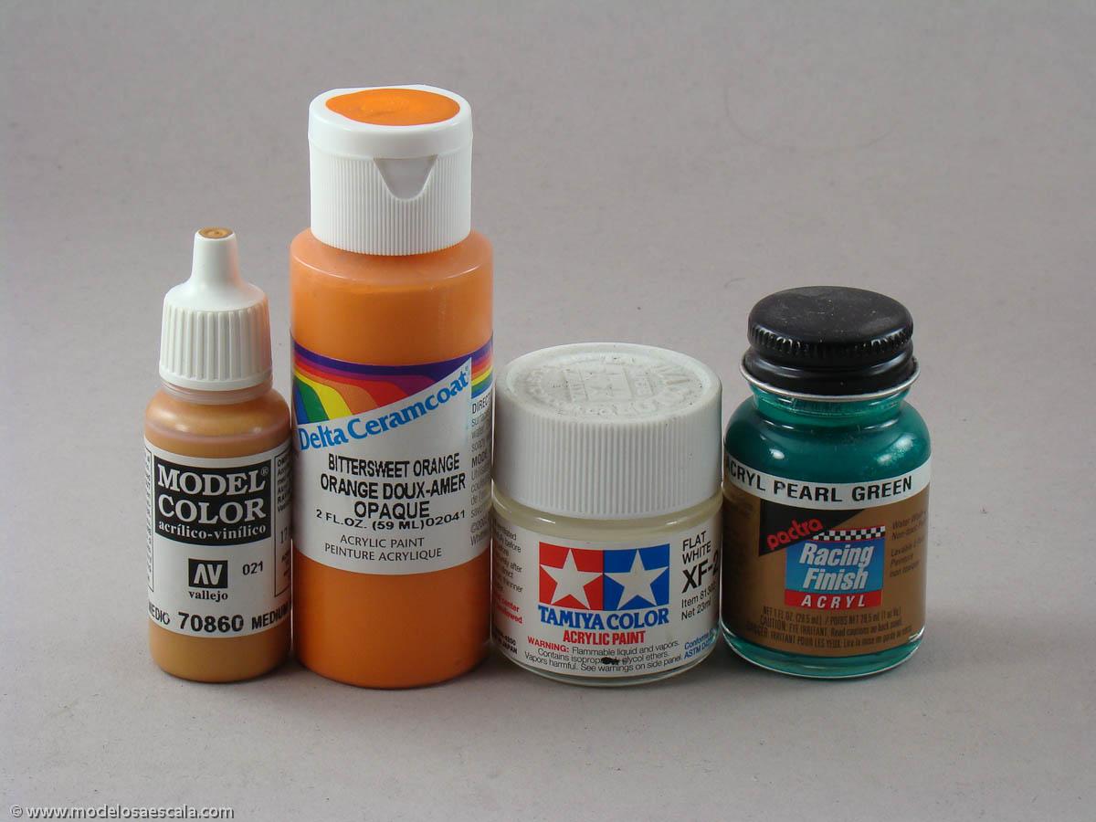 Hablemos de pinturas acr licas modelos a escala for Pinturas acrilicas para cuadros