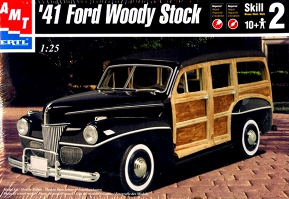 1941 Ford Woody Stock 125 Si