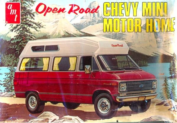1970 Open Road Chevy Mini Motor Home 3 N 1 125 Fs