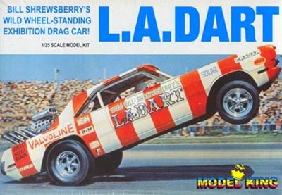 1970 Dodge Dart LA Dart Rear Engine Dragster 125 Fs
