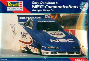 Gary Densham S Nec Communications Dodge Avenger Funny Car