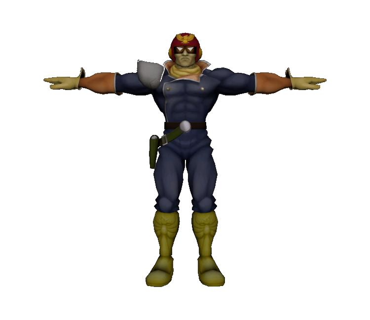 GameCube Super Smash Bros Melee Captain Falcon The Models Resource