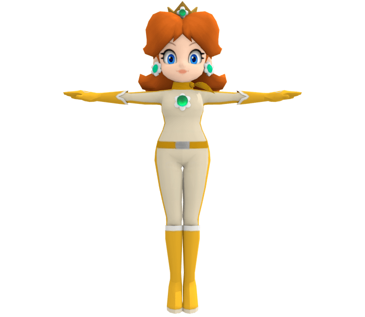 Wii U Mario Kart 8 Daisy Suit The Models Resource
