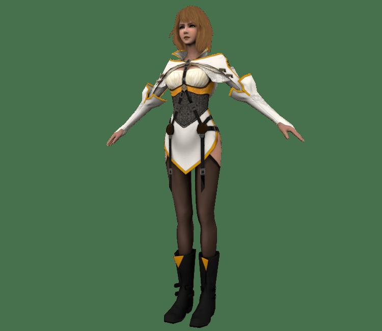 PC Computer Mobius Final Fantasy Princess Sarah The Models Resource