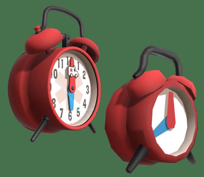 Stretchers Alarm Clock