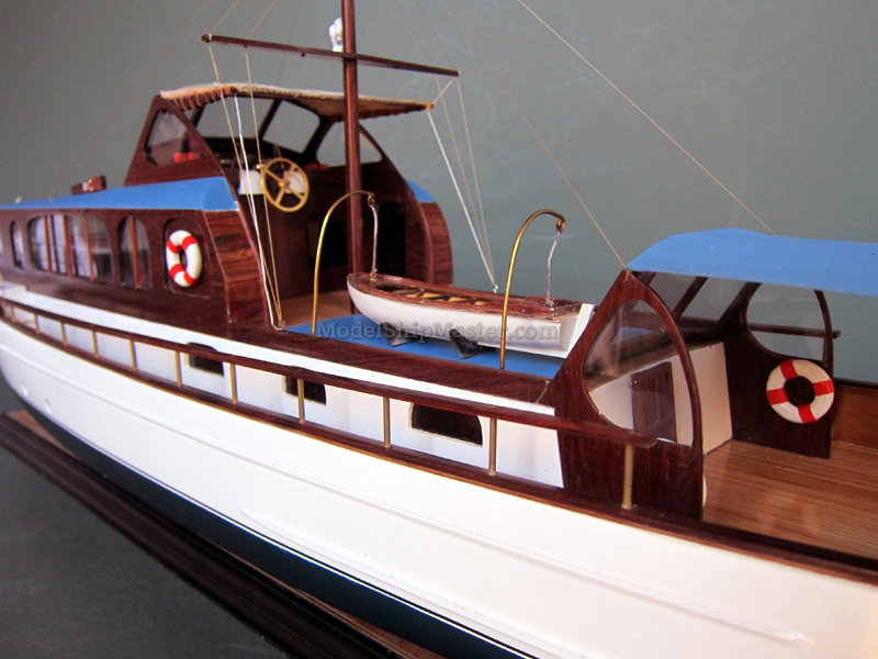 Model Of The 1939 Elco Yacht