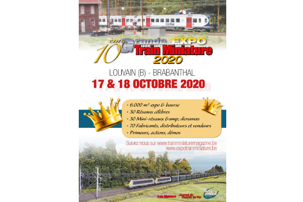 annonce Grand Train Miniature Magazine Expo 2020