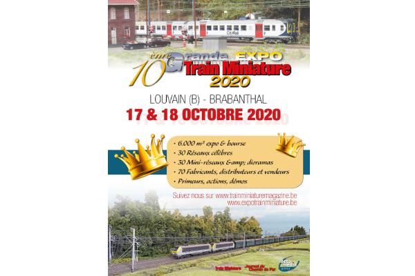 annonce Grand Train Miniature Magazine Expo 2020