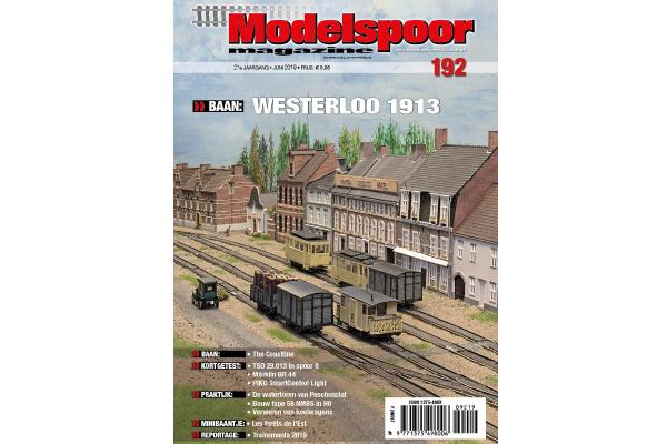 cover Modelspoormagazine 192 - editie juni 2019