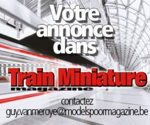 annonce dans Train Miniature Magazine