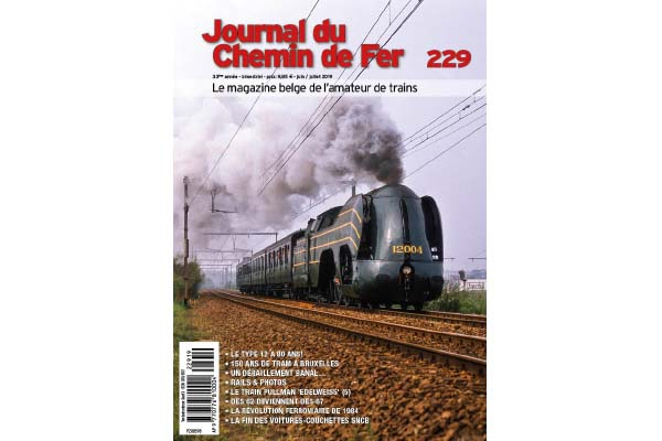 Cover Journal du Chemin de Fer 229