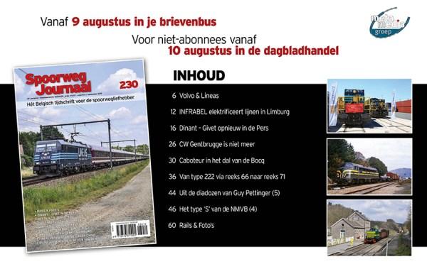 inhoud Spoorwegjournaal 230