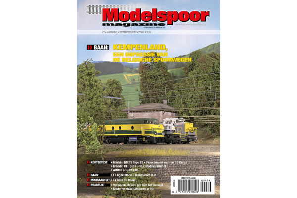 Cover Modelspoormagazine 194 - editie september