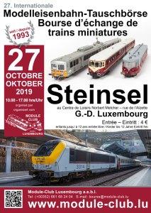 Modelspoorbeurs Steinsel Luxemburg