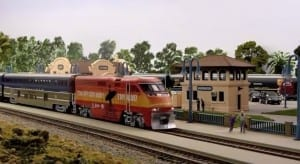 American HO Model Railroad Image 1
