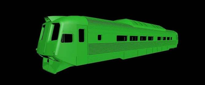 Latitude 32 Models' version of the WAGR Prospector cars
