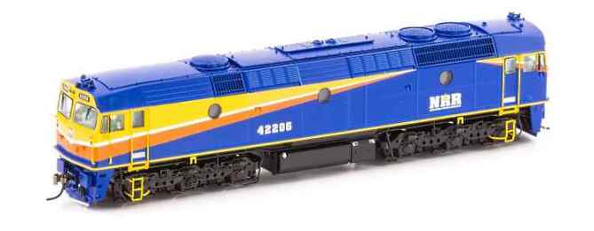 Auscision's new 422 loco in Norther Rivers paint scheme
