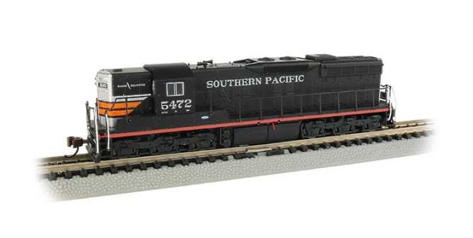 Bachmann's new sound-equipped N Scale SD9