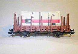 Marklin rongenwagen + container
