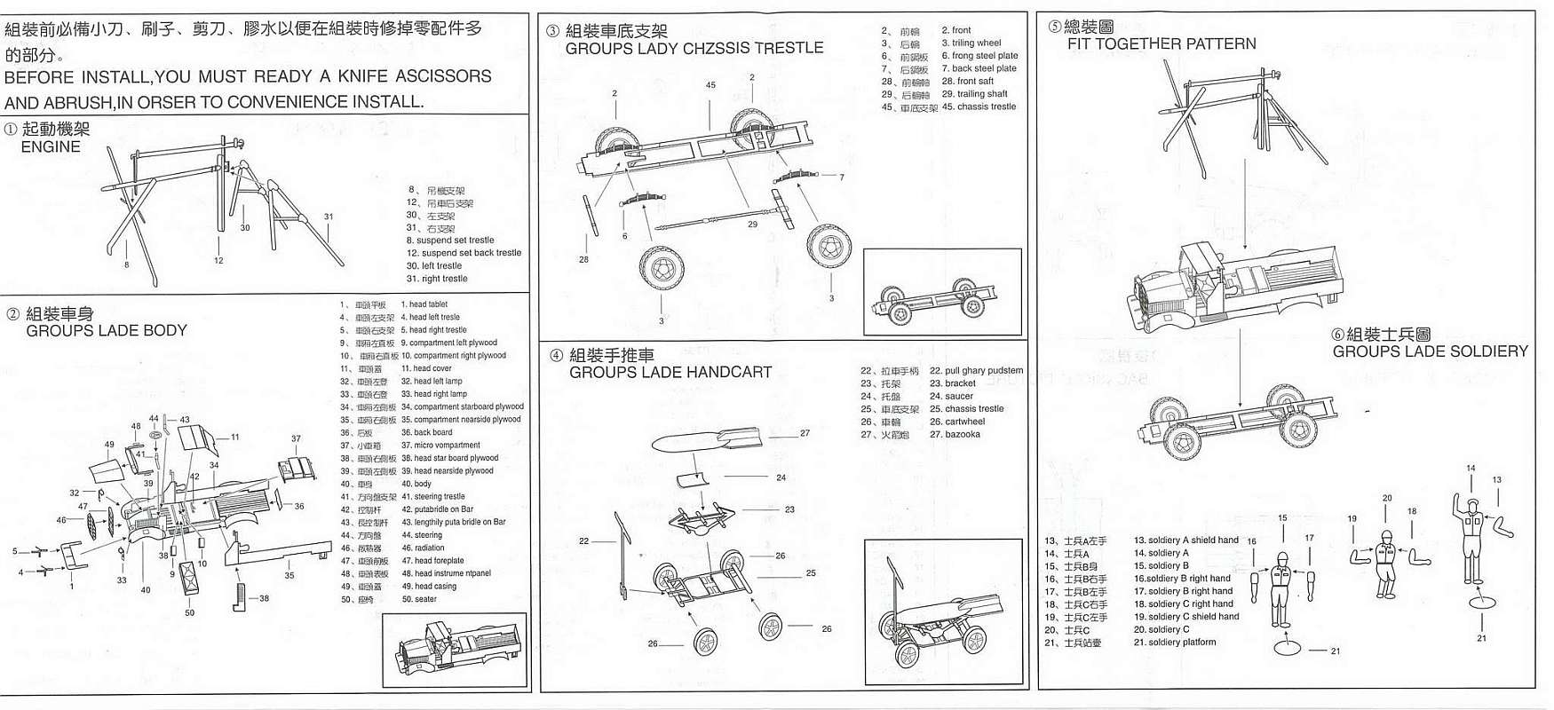 Hasegawa Hsg Starter Truck Toyota Gb Modelbouw Vliegtuig