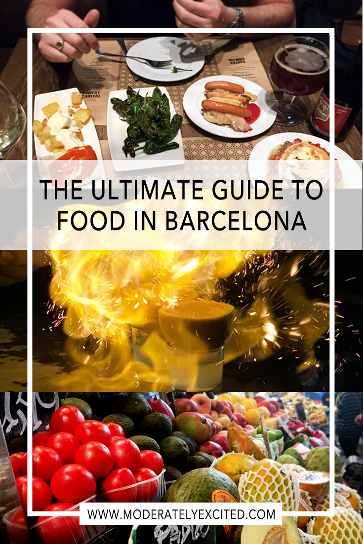 The ultimate guide to food in Barcelona, Spain